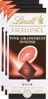Lindt Excellence Pink Grapefruit Intense