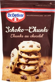 Cioccolato al latte Chunks Dr. Oetker