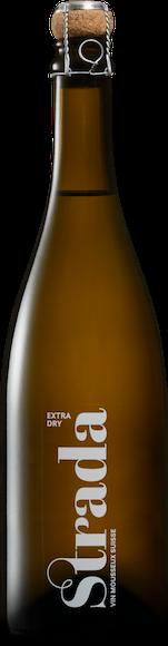 Strada Vin mousseux Suisse extra dry Vorderseite