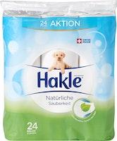 Carta igienica Igiene naturale Hakle