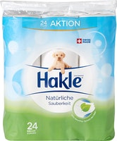 Papier hygiénique Propreté naturelle Hakle