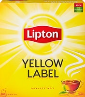 Lipton Schwarztee Yellow Label