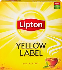 Tè nero Yellow Label Lipton