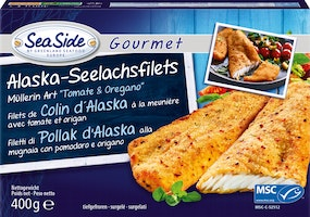 Filetto di merluzzo dell'Alaska SeaSide