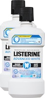 Bain de bouche Advanced White mild Listerine