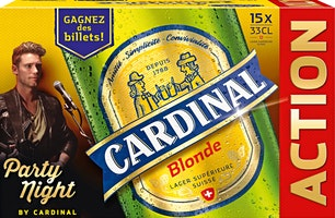 Birra chiara Cardinal