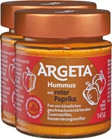 Houmous au poivrons rouge Argeta