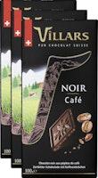Villars Tafelschokolade Dunkel Kaffee