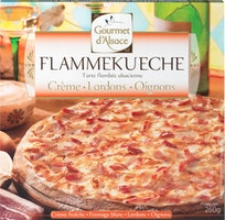 Tarte flambée alsacienne Gourmet d'Alsace