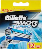 Lames de rasoir Mach3 Turbo Gillette