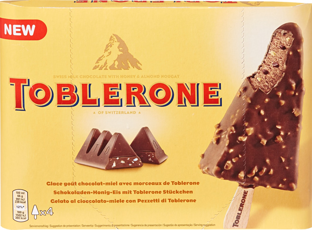 Toblerone Ice Cream Cake