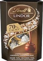 Boules Lindor Noir 70% Cacao Lindt