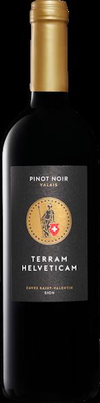 Terram Helveticam Pinot Noir du Valais AOC Vorderseite