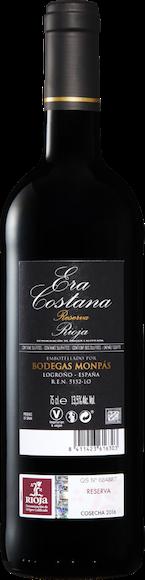 Era Costana Reserva DOCa Rioja  Zurück