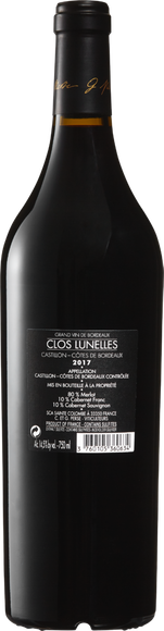 Clos Lunelles Castillon Côtes de Bordeaux AOC Zurück