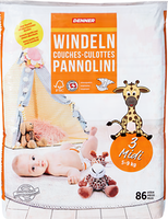 Pannolini bebè Midi Denner
