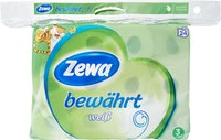 Zewa bewährt Toilettenpapier Weiss