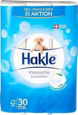 Carta igienica Igiene classica Bianca Hakle