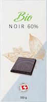 Tavoletta di cioccolata Fondente 60% bio