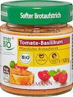 enerBiO pflanzlicher Brotaufstrich Tomate-Basilikum