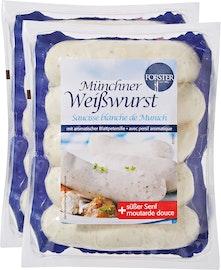 Saucisse blanche de Munich Forster