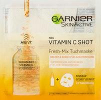 Masque tissu Fresh Mix à la vitamine C SkinActive Garnier