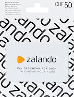 Zalando-Geschenkkarte im Wert von CHF 50.–