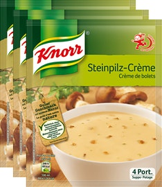 Knorr Suppe Steinpilzcrème