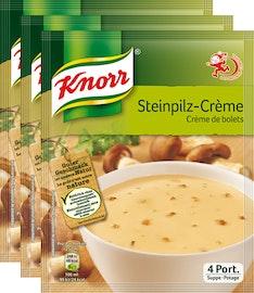 Zuppa di funghi porcini Knorr