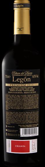Legón Premium D.O. Ribera del Duero Zurück