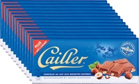 Tablette de chocolat Lait-Noisettes Cailler