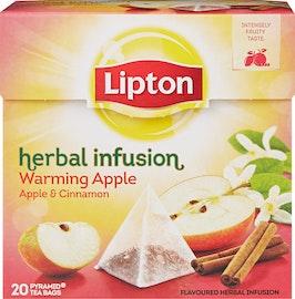 Lipton Tee Herbal Infusion Warming Apple