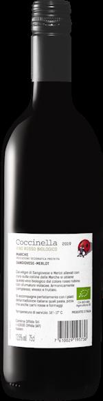 Coccinella Sangiovese/Merlot bio Marche IGP Zurück