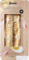 Mmmh Clubsandwich Schinken und Gouda