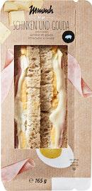Club sandwich Jambon et Gouda Mmmh