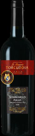 Le Masserie Torcuddia Susumaniello Puglia IGT Vorderseite