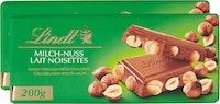 Tablette de chocolat Lait-Noisettes Lindt