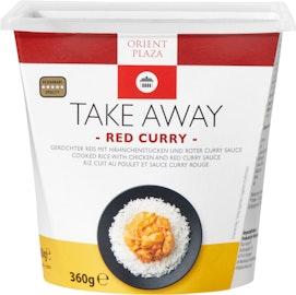 Orient Plaza Take Away Rotes Curry mit Reis