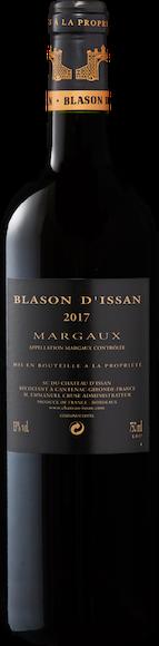 Blason d'Issan 2ème vin de Château d'Issan Margaux AOC Zurück