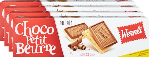 Biscuits Choco Petit Beurre au lait Wernli