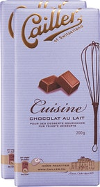 Chocolat de ménage Lait Cailler