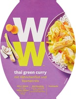 Plat cuisiné Thai Green Curry Weight Watchers