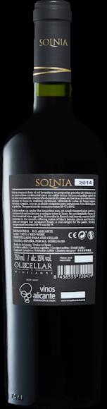 Solnia Old Vine Monastrell  D.O. Alicante Zurück