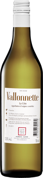 Vallonnette AOC La Côte  Zurück