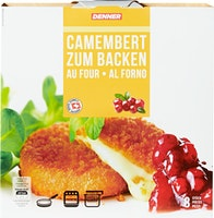 Denner Camembert zum Backen