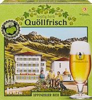 Appenzeller Quöllfrisch Hopfig Herb