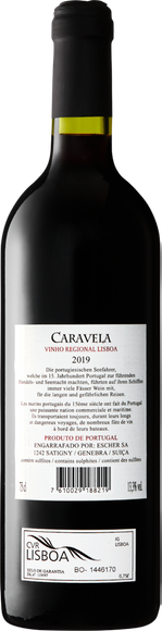 Caravela Vinho Regional Lisboa IGP Zurück