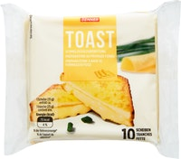 Pain de mie avec de la préparation au fromage fondu Denner
