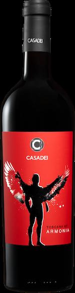 Casadei Armonia Rosso bio Toscana IGT Vorderseite