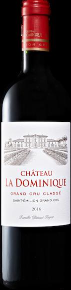 Château La Dominique Saint-Emilion Grand Cru AOC Vorderseite